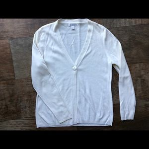 Worn Once Cream Charter Club Sweater Sz M